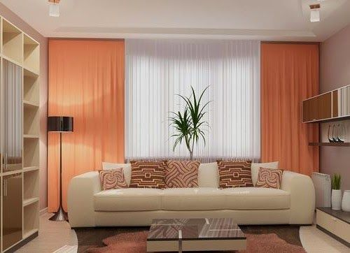 Curtain Design For Living Room Brilliant Review