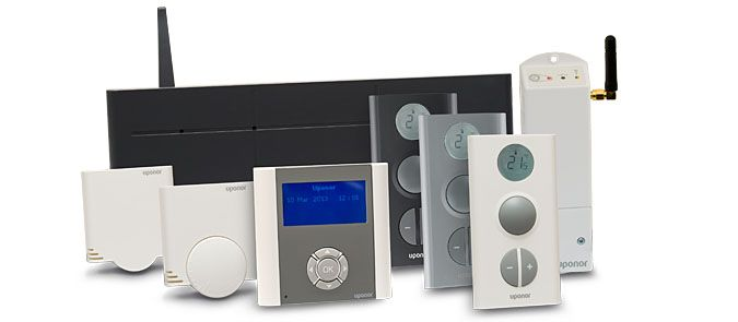 Uponor Control System Radio med DEM (Dynamic Energy Management)