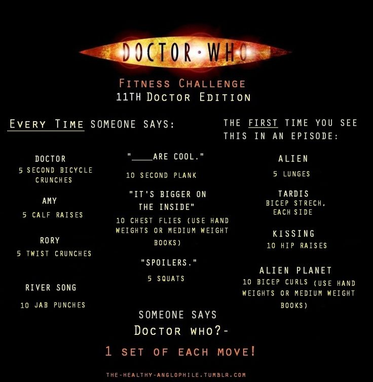 Doctor Who Workout #2