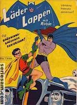 Läderlappen och Robin 1950 omslag serier