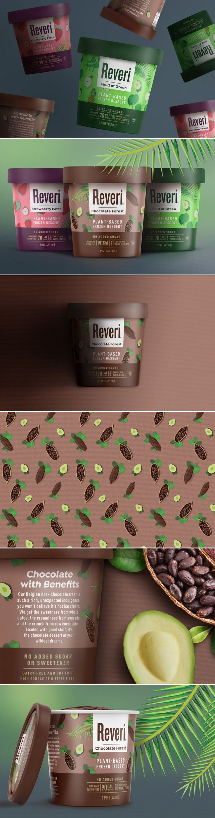 This Cute Frozen Desert Has a Little Surprise For You — The Dieline | Packaging & Branding Design & Innovation News