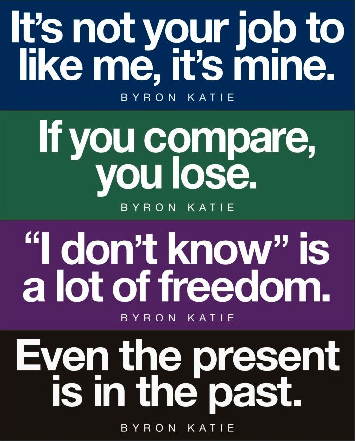 1000+ Images About The Work Of Byron Katie On Pinterest