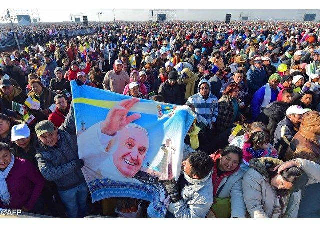 El Evangelio llena el corazón y la vida de los que se encuentran con Jesús , el Papa en Ecatepec - Radio Vaticano