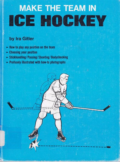 This is hilarious. Who can learn to play puck, in a book?