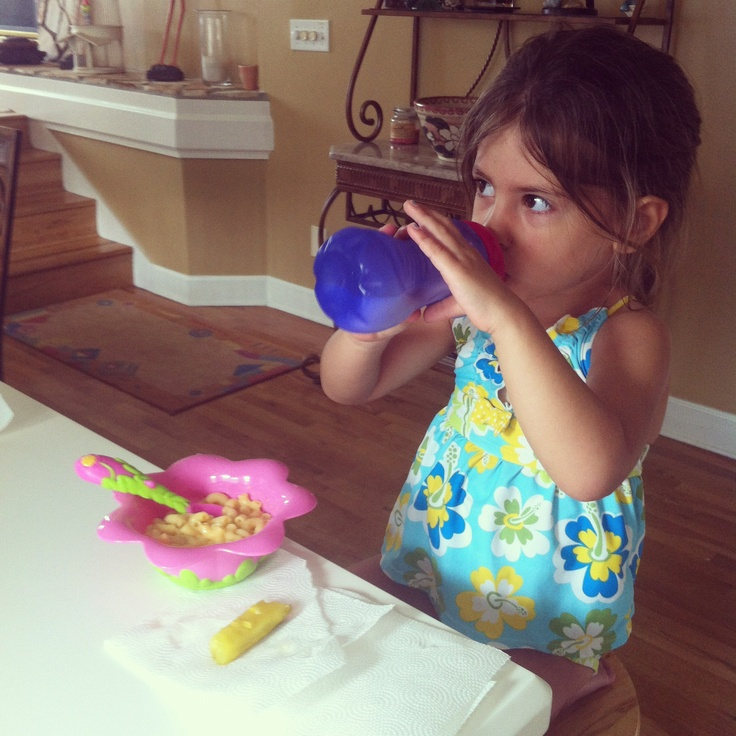 With her fav gripper cup! #nuby #sippy cup