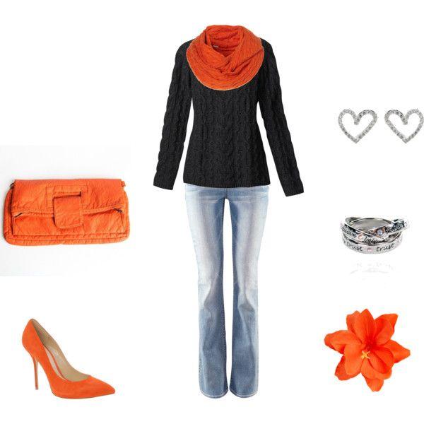 Orange Cutie!: Orange Heels, Cutesie Wootsie, Clothes Fashion, Fashion 411, Favorite Outfits, Orange Fridays, Craft Ideas, Orange Cutie