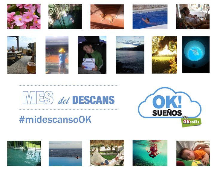 ¡Gracias a todos los que ya habéis participado en nuestro concurso #midescansoOK! Estamos recibiendo muchas fotos super chulas. ¡Mucha suerte a todos! #OKSueños