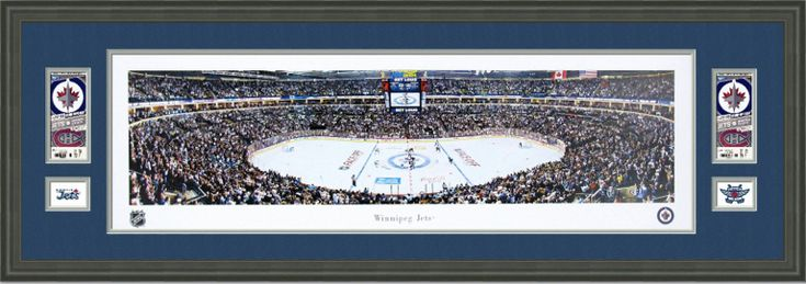 Winnipeg Jets | Examples | Custom Framing | Pictures Frames and More
