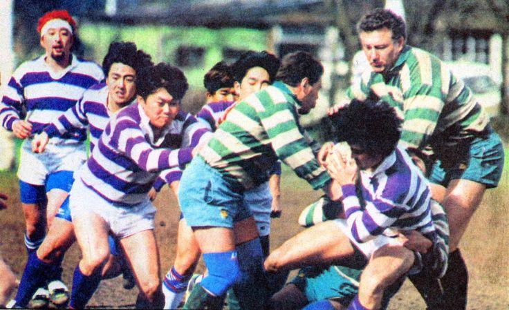GIC Japan vs Rhinos of Reading rugby football club