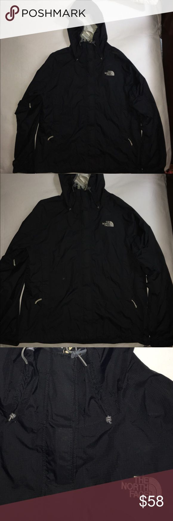 North face rain jacket In good condition. Has some piling from the inside only on top. The North Face Jackets & Coats