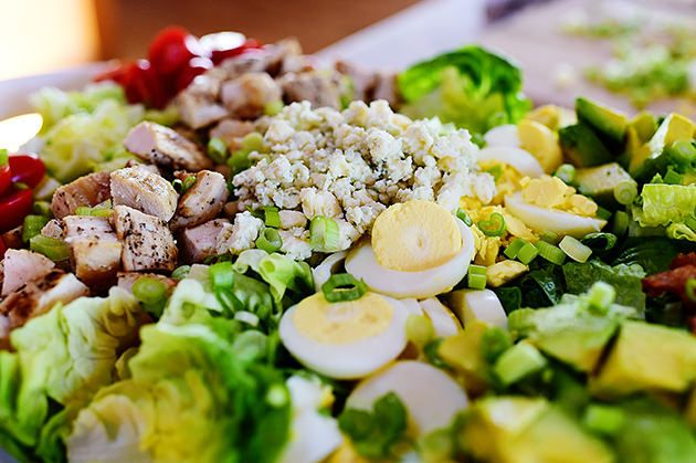 Man, do I love a Cobb Salad! My mom used to order them at restaurants when I was younger, and I knew I had truly become a grown-up when I started ordering them, too. And when I could no longer eat ...