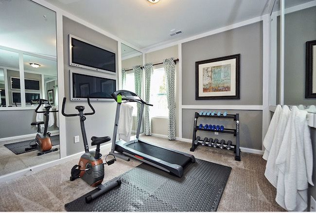 10 Places in your Home to Set Up your Own Home Gym