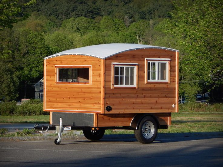 At Wide And 8 Ft Tall, The Terrapin Camper Is Road Ready. With Its 7  Windows, This Little Home Has Views Out All Sides.