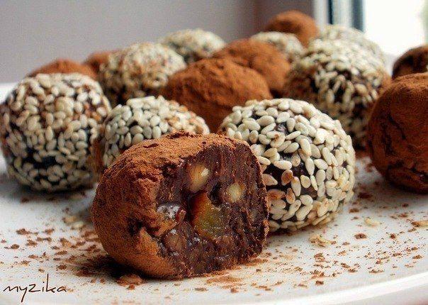 13 супер рецептов домашних конфет.