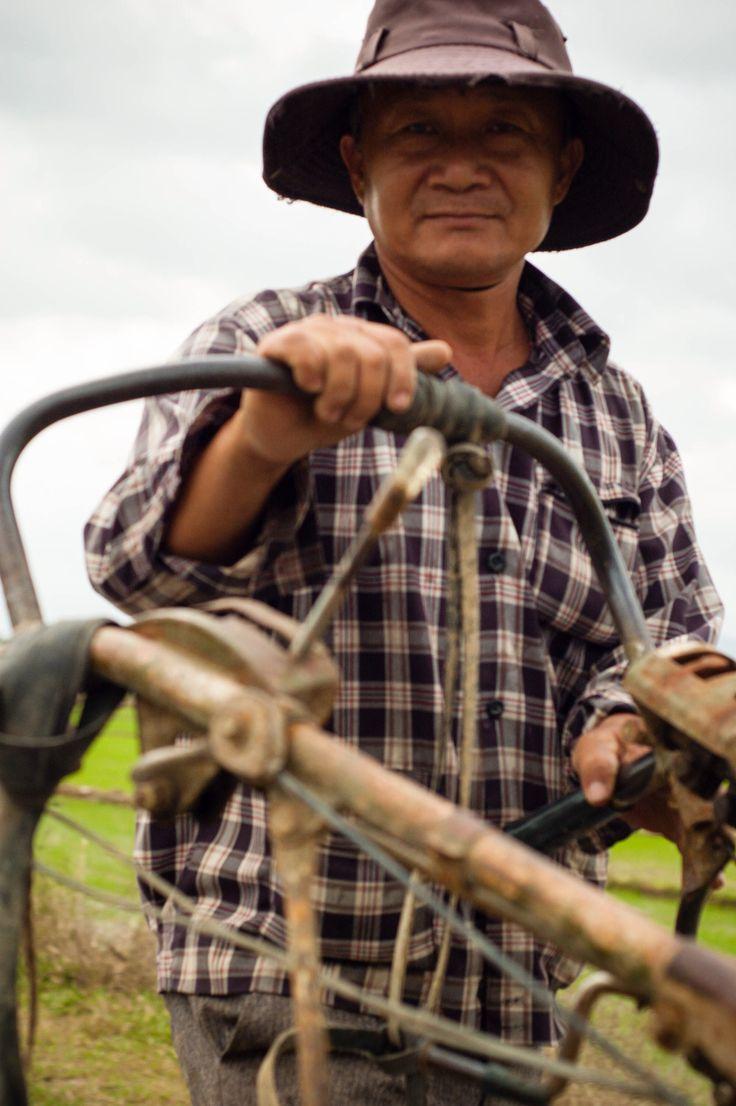 Old farmer #Asia #Vietnam  #travel