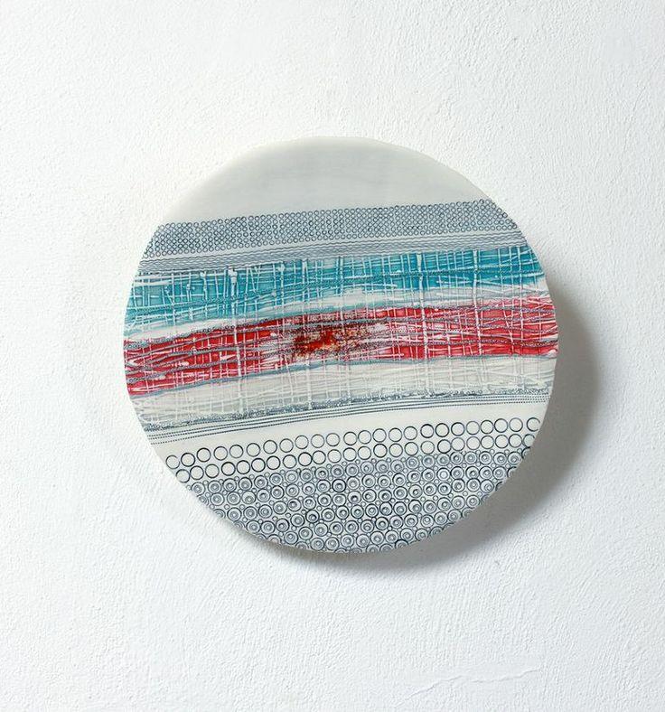 Ceramic Wall Piece - By Michele Hannan