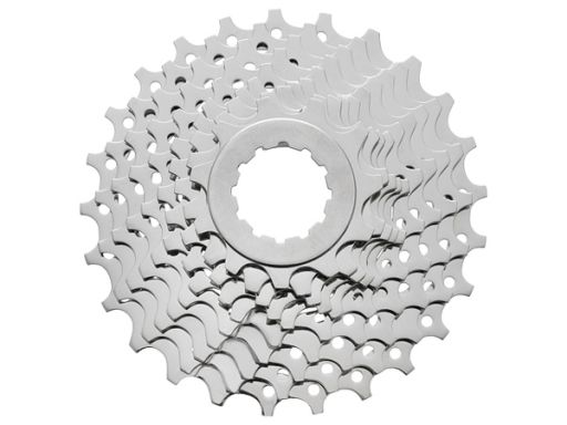 Shimano Tiagra 4600 10-speed Cassette. Wide gear and 10-speed preparing proper gear ratio for entry rider 10-speed CS prepare 25T, 28T, 30T