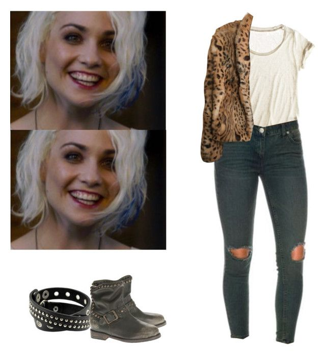 Riley Blue - Sense8 by shadyannon on Polyvore featuring polyvore fashion style Calypso St. Barth Haute Hippie Mr. Wolf clothing
