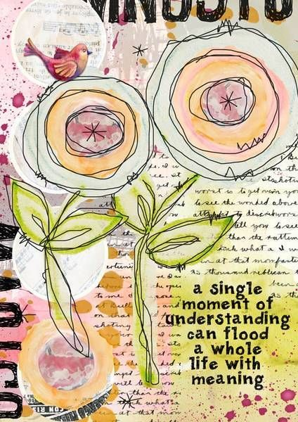 journaling flowers