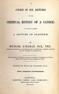"The Chemical History of a Candle - Michael Faraday's annual lectures for juveniles--good chemistry read, teaches the ""secret of combustion""--should be able to reproduce the experiments using simple things like salt, water, tallow, fire, etc."