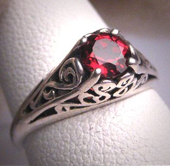 Hey, I found this really awesome Etsy listing at https://www.etsy.com/listing/191258452/antique-garnet-filigree-wedding-ring