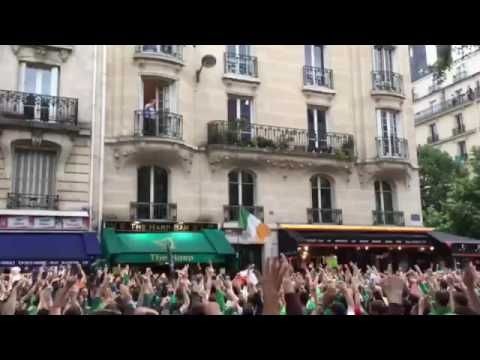 Irish fans in Paris react to french guy on the balcony EURO 2016 https://www.youtube.com/watch?v=Ipg4oxNw2b4 Love #sport follow #sports on @cutephonecases