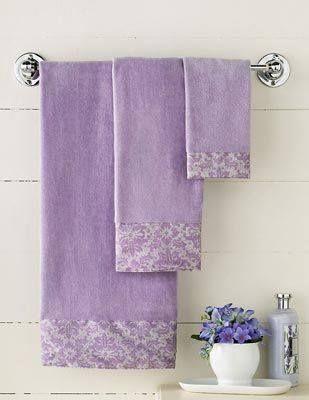 Best Purple Bathroom Images On Pinterest Bathroom Interior - Lavender bath towels for small bathroom ideas
