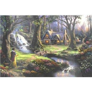 Disney Dreams Collection by Thomas Kinkade Snow White Counted Cross Stitch Kit | Shop Hobby Lobby