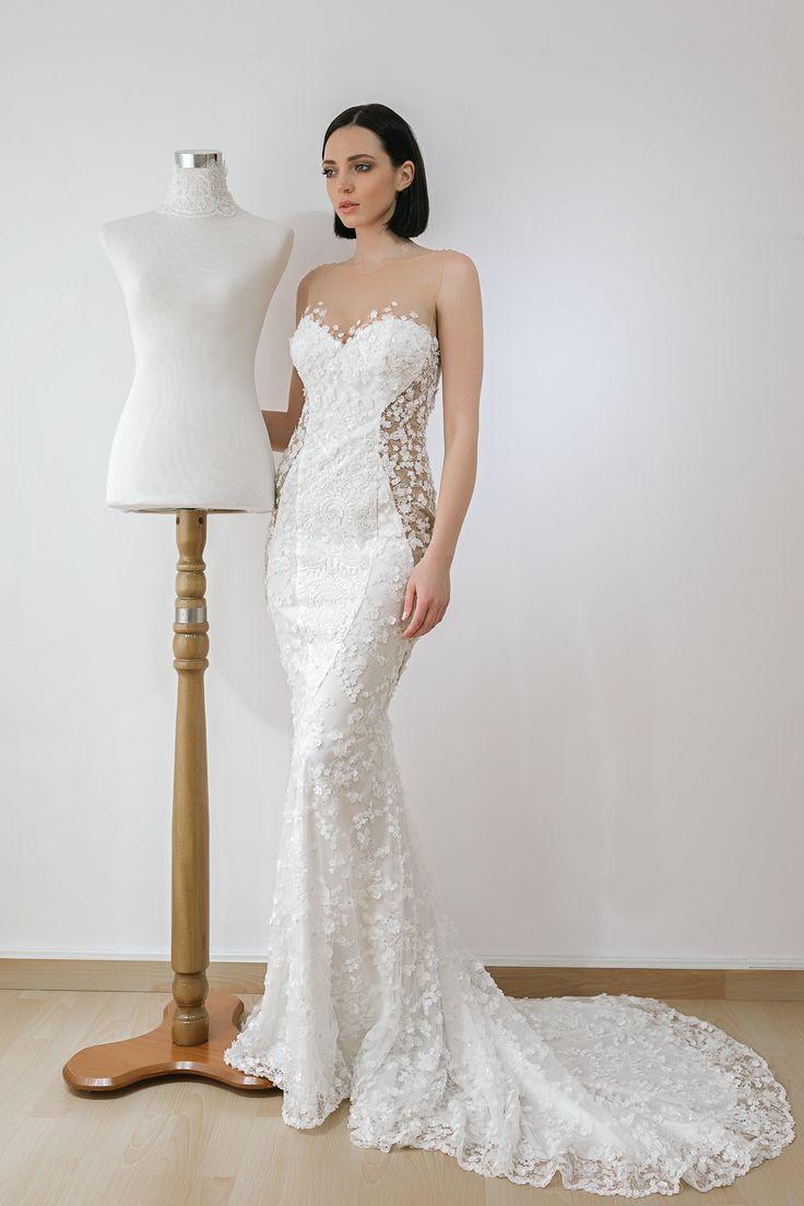 wedding dresses 2018 Noel Collection.SILUETTE SS18006
