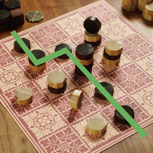 """I really enjoy the challenge of creating abstract strategy games but the challenge of selling them is even higher than that of writing them so I rarely get the chance."" Visit the link in our profile to read the story behind Tak by James Ernest! by analoggames"