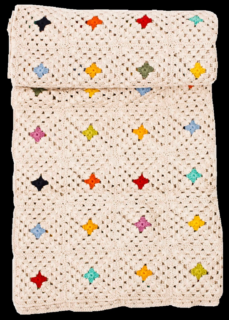 simple and lovely!**Such a Sweet Way To Do A Granny Square Blanket! :-)..Thank-You!**