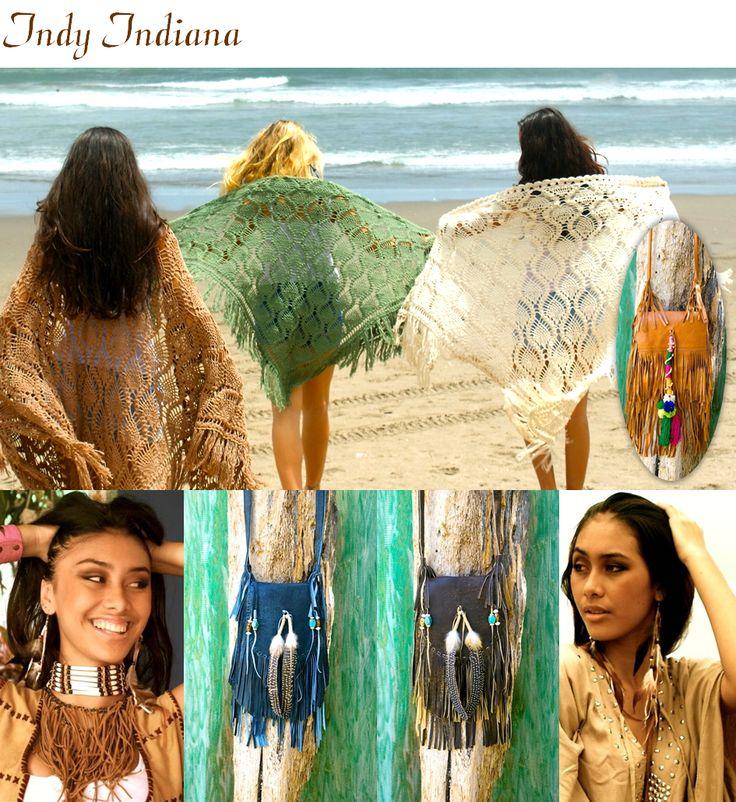 #Festival bags #ibiza scarfs #fringe bags #bags #scarfs #ibiza #bohemian www.indyibiza.com