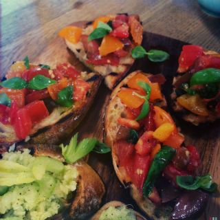 Bruschetta three ways – Classic tomato