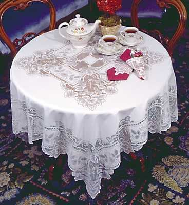 Victorian trading Co. - www.victoriantradingco.com - Heirloom Lace Tablecloth