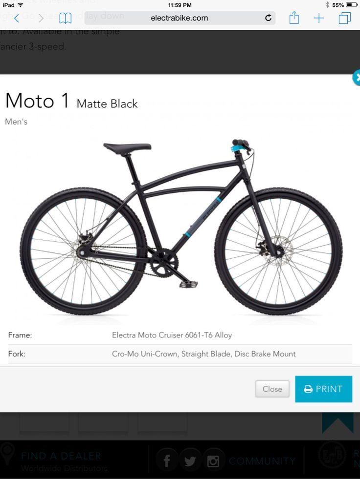 Electra Moto 1. Fleek!