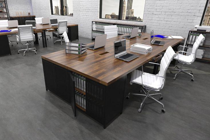 Workbench Version One Industrial Office Furniture Modern