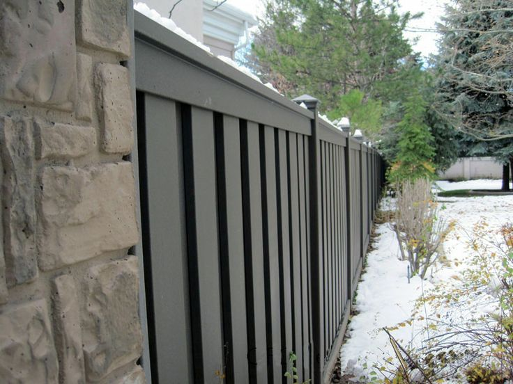 Composite Deck Privacy Wall