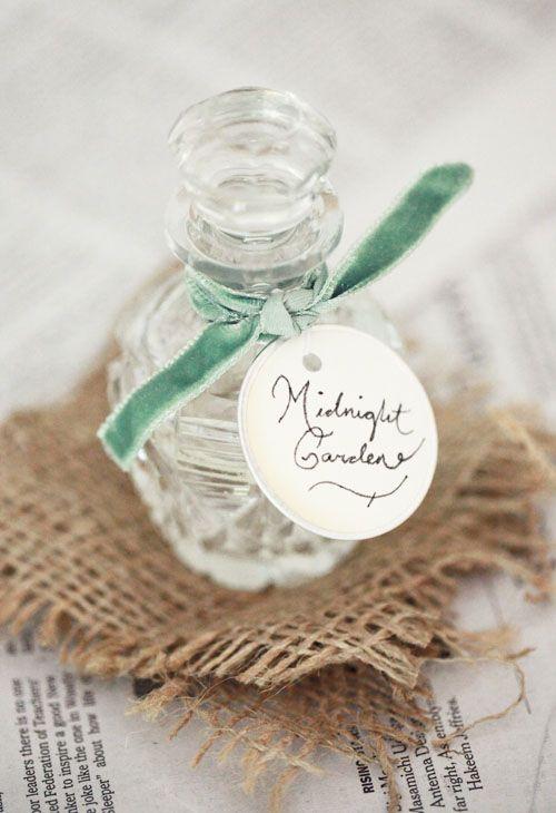 DIY: Homemade Eau de Perfume: Homemade Perfumes, Small Measures, Natural Perfume, Lip Gloss, Design Sponge, Diy, Water, Bridesmaid Gift