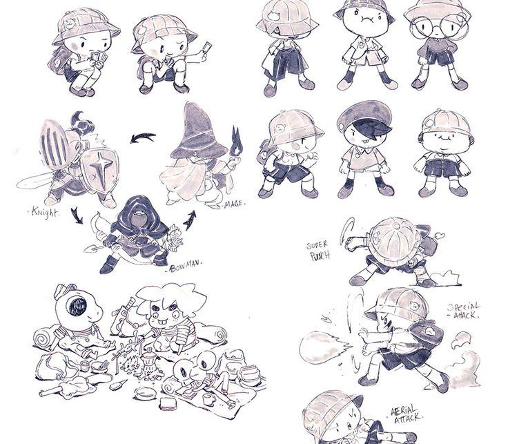Character Design Gumroad : Images about character design sketchbook on