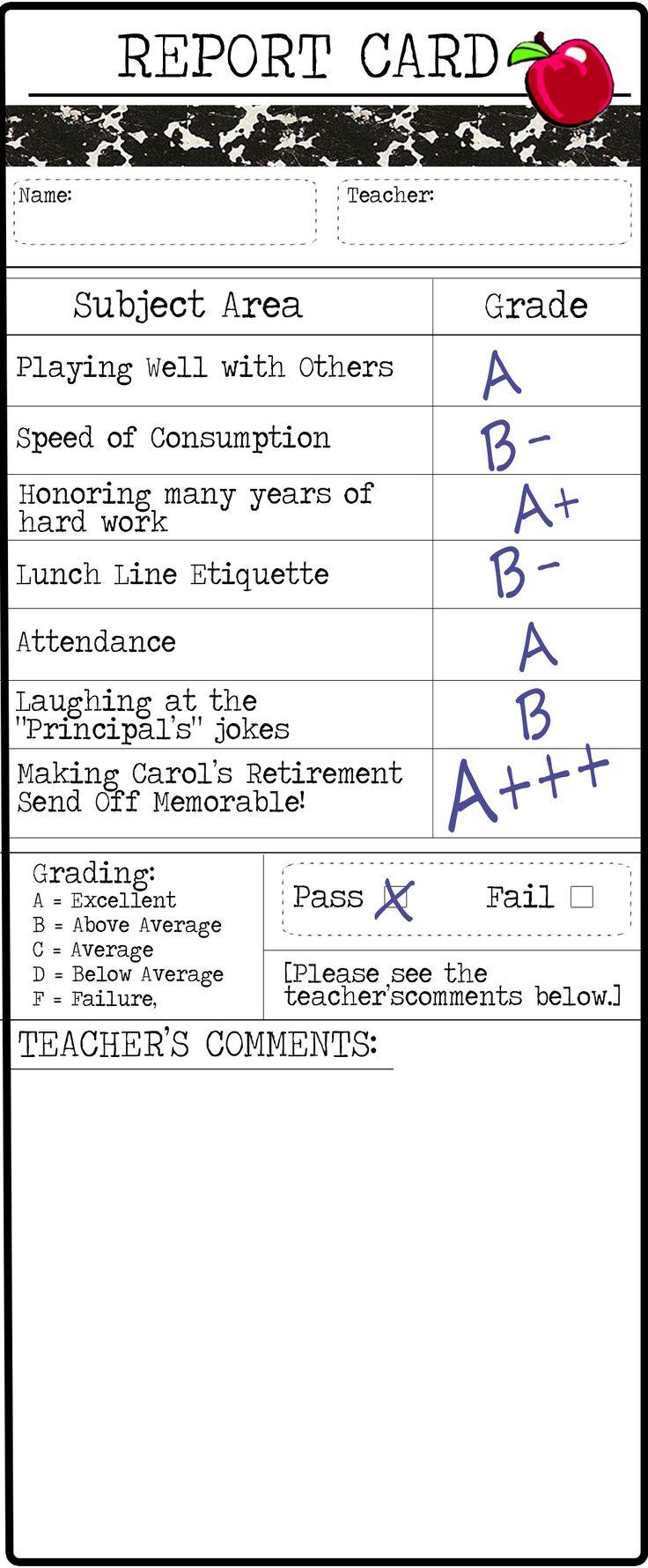 Retirement Party Ideas | Teacher Retirement Thank You Note | doodles, dabbles, & dreams