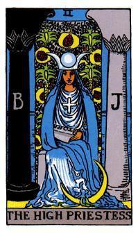 Yüksek Rahibe Tarot Kart Anlamı