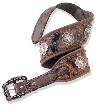 Ladies Western Wear-Womens Western Wear-Cowgirl Apparel-Cowgirl Clothes CrowsNestTrading Clothing, Shoes & Jewelry - Women - women's belts - http://amzn.to/2kwF6LI