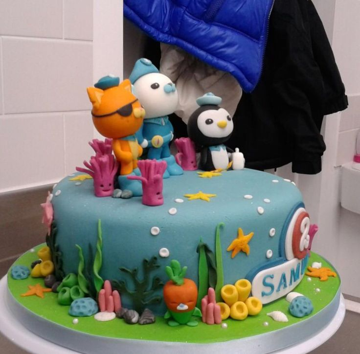 38 Best Octonauts Cakes Images On Pinterest Octonauts