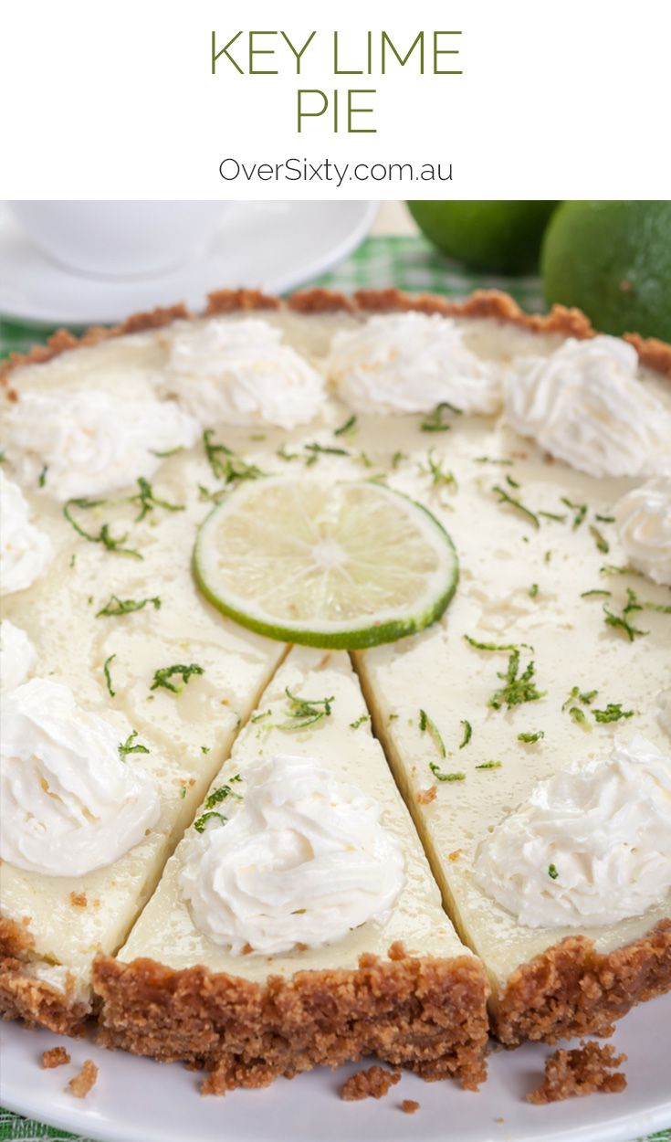Key Lime Pie - Refreshing, tangy and delicious, this traditional dessert is simply sensational. Believe it or not, this recipe is so simple, and the end result is spectacular.