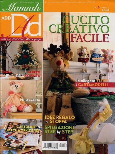 CUCITO CREATIVO FACILE - dong3 - Веб-альбомы Picasa