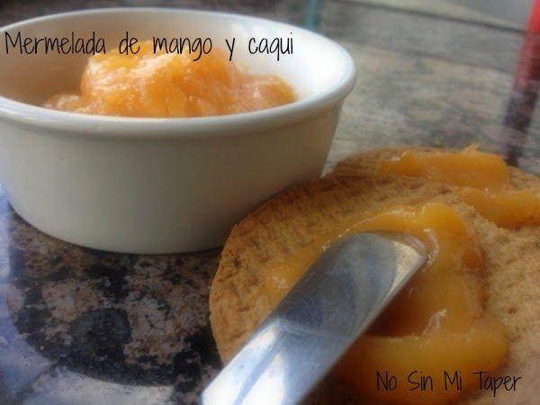 Mermelada de mango y caqui