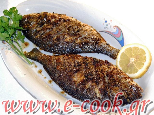 Τσιπούρες ψητές. | www.e-cook.gr