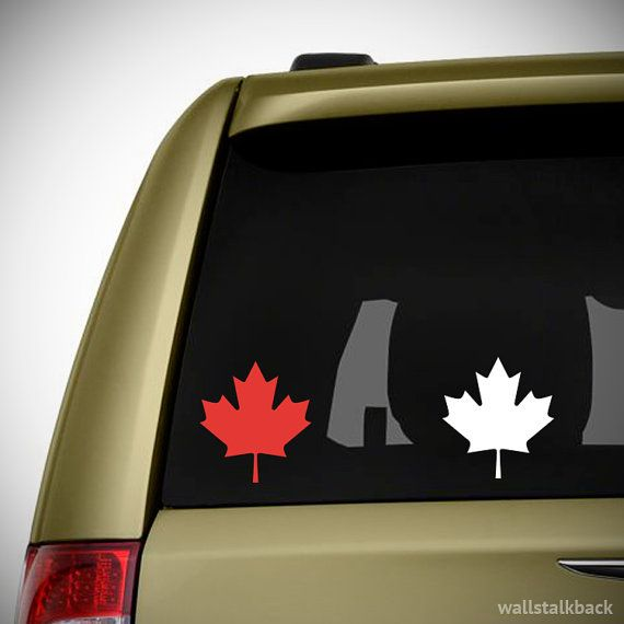 Canadian Maple Leaf Car/Laptop Decal