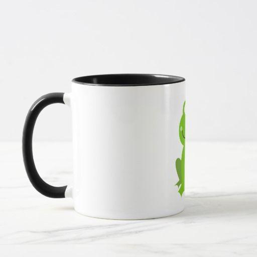 Original Classic mug with Little green Frog