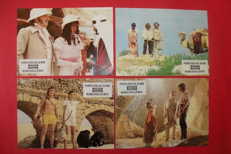 PARADISE 1982 PHOEBE CATES WILLIAM AAMES STUART GILLARD UNIQUE EXYU LOBBY CARDS